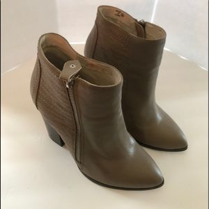 Chelsea and Zoe Tan Booties Size 8 1/2